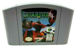 Star Fox 64 Nintendo 64 Cleaned Tested Authentic N64 US Version 1996 - $15.83