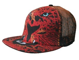 Iron Fist Black Year Of The Cat Trucker Snapback Baseball Hat Cap Pussycat NWT image 1