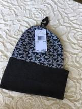 NWT Michael Kors Gray Fall Winter Beanie Knit Hat - $18.04