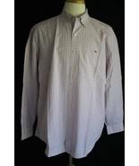Vineyard Vines Men's Long Sleeve Cotton Whale Dress Shirt size XL - $24.74