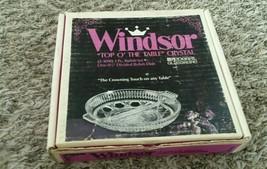 Windsor Divided Relish Bowl with Handles Vintage Crystal federal glasswa... - $28.00