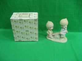 Precious Moments Figurine ~ Love Lifted Me ~ Dated 1977 ~ E1375/A - $22.40