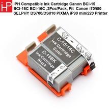 Compatible Ink Cartridge Canon BCI-15 BCI-15C BCI-16C ,2Pcs/Pack - $22.19