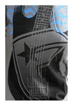 Famous Stars & Straps Gris Électrique Usine Guitare T-Shirt Taille : Petit image 2