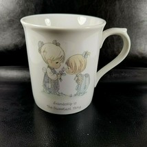 Vintage Precious Moments Friendship Is The Sweetest Thing Coffee Cup Mug... - $13.96