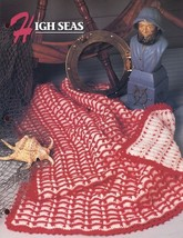 High Seas Baby Afghan Lap Robe Annie's Crochet Pattern/Instructions Leaflet - $2.67