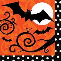 Amscan Frightfully Fancy Halloween Lunch Napkins (36 count) - $12.85 CAD