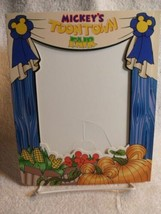 Disney Collectible – Mickey's Toontown Fair Frame - Fall And Pumpkins - $32.99