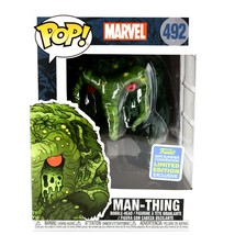 Funko Pop! Marvel Man-Thing 2019 SDCC Summer Convention Exclusive #492 image 1