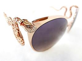 Roberto Cavalli Women's Sunglasses Menkalinan 890S 28F 135 Gold Metal IT... - $355.00