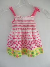 Osh Kosh B'Gosh Girl's Size 2/2T 100% Cotton Floral Sleeveless Knee-Leng... - $20.80
