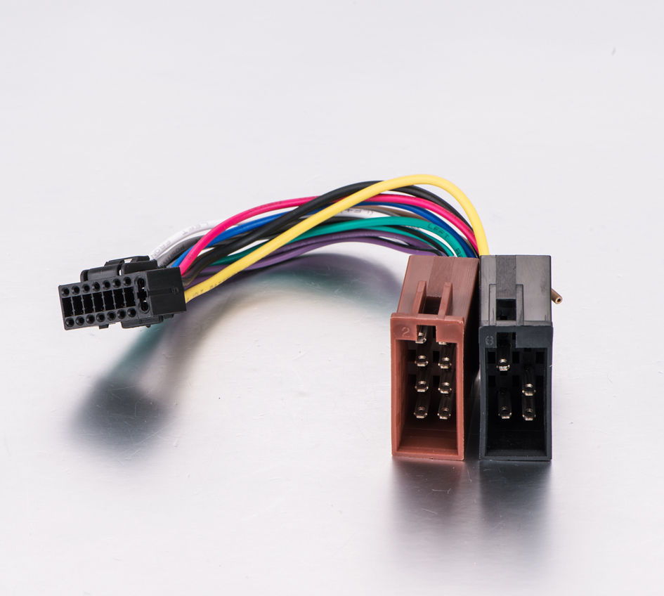 Aps Kenwood Into Radio Wire Harness 16 Pin And Similar Items Wiring Pins Aftermarket Oem Skken16 21 Iso