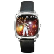 Square Metal Unisex Watch Highest Quality Freddie Mercury - $23.99