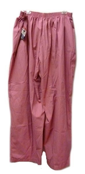 P.R.N 1067 Elastic Waist Uniform 5XL Geranium Pink Scrub Pants Bottom New image 9