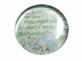 Kiola Designs Yellowstone National Park Map Pendant Magnet - $19.99
