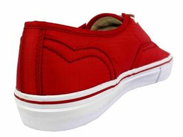 Levi's Women's Classic Premium Atheltic Sneakers Shoes Rylee 524342-01R Red image 4
