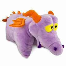 Disney Parks Epcot Figment Imagination Mascot Pet Plush Pillow New With tag - $39.66