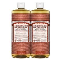Dr. Bronner's - Pure-Castile Liquid Soap Eucalyptus, 32 Ounce, 2-Pack - $29.31