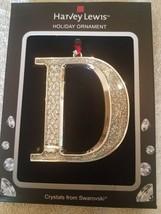 "Harvey Lewis ""D"" Christmas Ornament upc 887915384865 - $39.08"