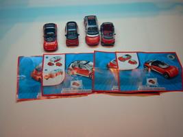 Kinder - 2008 TT090-093 Smart Collection - complete set + 4 papers  - $7.00