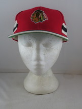 Chicago Blackhawks Hat (VTG) - All Over Graphics by Twins -Adult Snapback (NWOT) - $149.00
