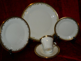 Lenox Eclipse 5 piece place setting excellent condition - $49.45