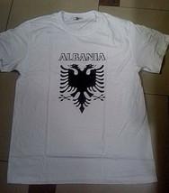 New-Summer-Albania-Albanian-Flag-UNISEX-Short-Sleeve-WhiteT-shirt-FROM X... - $15.00