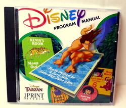Disney's Tarzan Print Studio Disney Program Manual - $2.95