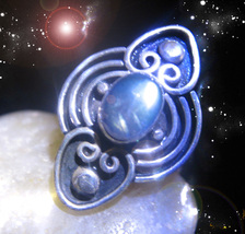 HAUNTED RING CLEANSE ELIMINATE & OPEN ALL INTERNAL BLOCKS MAGICK OOAK MAGICK  - $9,237.77