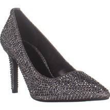 MICHAEL Michael Kors Dorothy Flex Pump Classic Heels, Anthracite Glitter... - $55.67