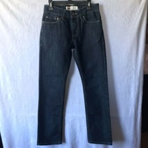 "Levi's 511 Slim Fit Boys Jeans Size 26"" X 26"" (12) Dark Blue Washed - $11.73"