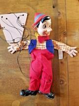Vintage Walt Disney Gund Pinocchio Marionette Puppet With Tag - $79.99