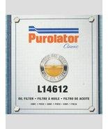 Purolator Classic L14612 Oil Filter, Pack of 1; Made in USA - $19.99