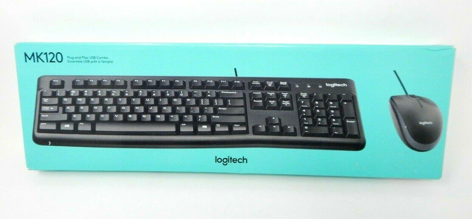logitech mk120 desktop mouse and keyboard combo 920 002565 keyboard mouse bundles. Black Bedroom Furniture Sets. Home Design Ideas