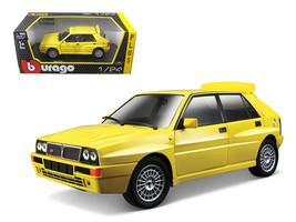 Lancia Delta HF Integrale Evo 2 Yellow 1/24 Diecast Car Model by Bburago - $33.00