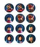 Roblox Gaming Edible Cupcake Images Cupcake Toppers - $8.98+
