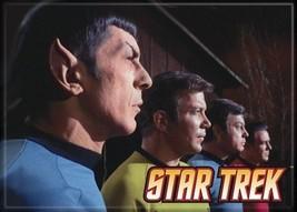Star Trek: The Original Series Cast in Profile Portrait Magnet, NEW UNUSED - $3.95