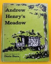 Andrew Henry's Meadow Weekly Reader Childrens Book Club Edition Doris Burn - $15.99