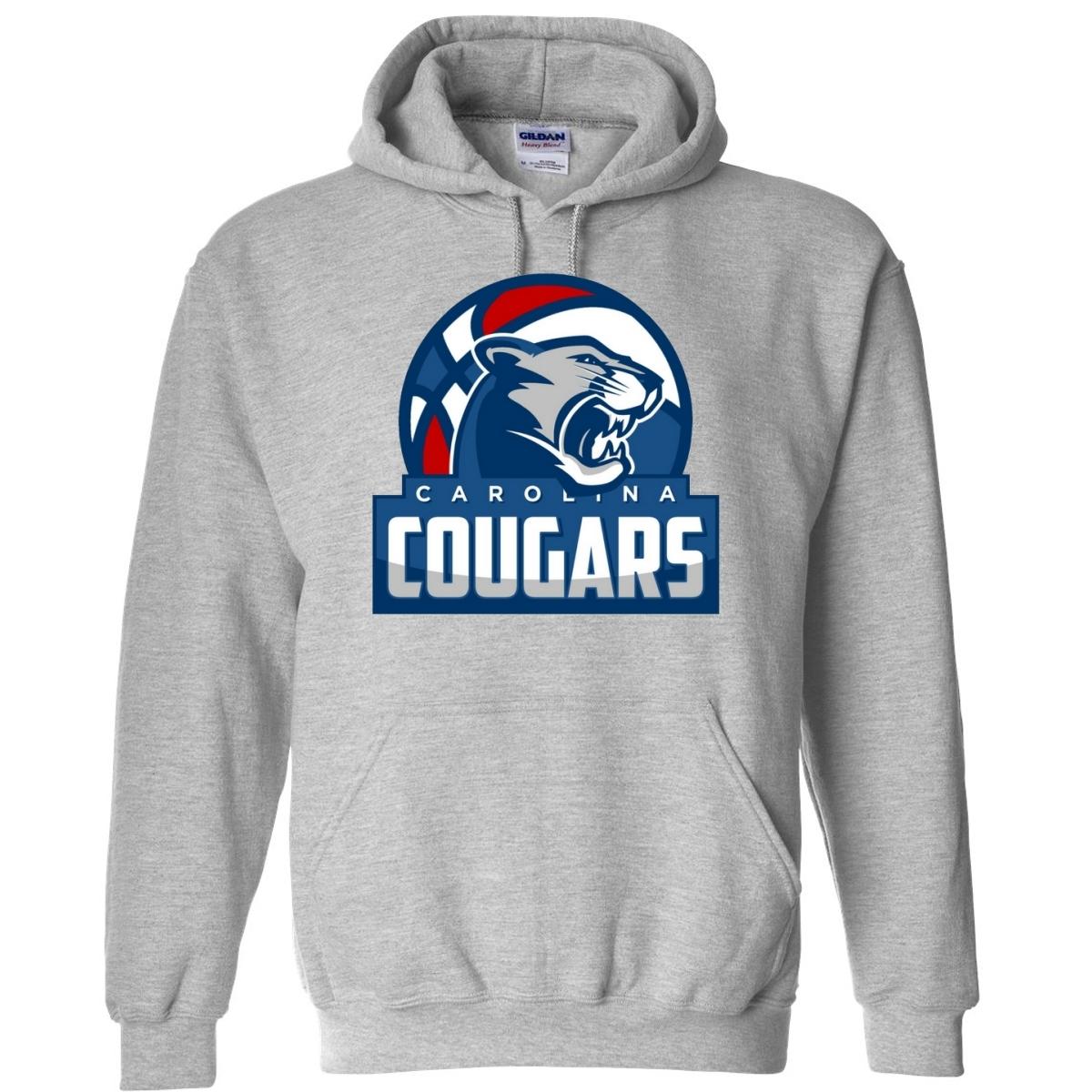 00009 BASKETBALL ABA Carolina Cougars Hoodie