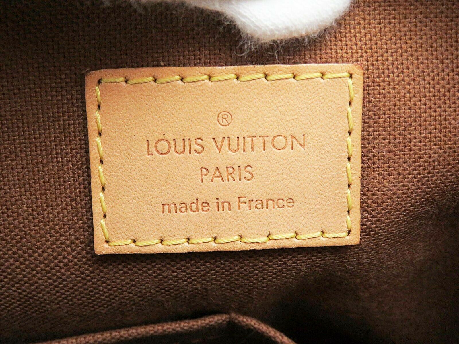 Authentic LOUIS VUITTON Odeon PM Monogram Shoulder Tote Bag Purse #32145 image 11