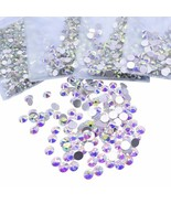 SS3-SS40 Glitter Rhinestones Crystal AB Rhinestones Non Hot Fix Sewing &... - $4.00+