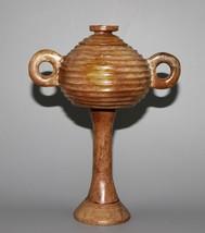 Chinese hetian jade carved jade vase height 20cm - $296.01