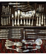 Gorham Melrose Sterling Silver Service for 16 Flatware Set 179 pcs 21 serving pc - $3,769.25
