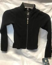 Mondor Model 2401 Lightweight Polartec Skating Jacket Black Size Child 4-6 - $35.99