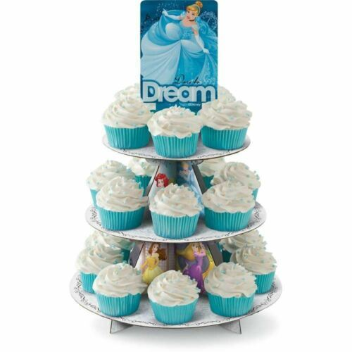 Disney Princesses Treat Stand 24 Cupcake Holder Party Centerpiece Wilton - $7.91