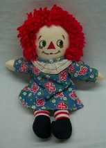 "Vintage Applause CUTE RAGGEDY ANN 9"" Plush STUFFED Animal DOLL Toy - $18.32"