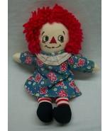 "Vintage Applause CUTE RAGGEDY ANN 9"" Plush STUFFED Animal DOLL Toy - $18.32"