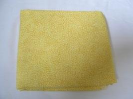 Sunny Yellow Leaves Design Quilting Fabric JoAnn Fabrics 1.5 Yards - $14.90