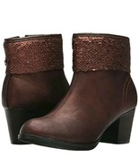 Skechers Womens Starlet Bronze Fashion Boots Size 8 New - $61.75