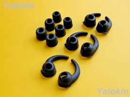 NEW 12pcs (BMF-BSTB) Memory Foam & Stabilizer Wing Eartips buds for Jaybird X3 - $16.09